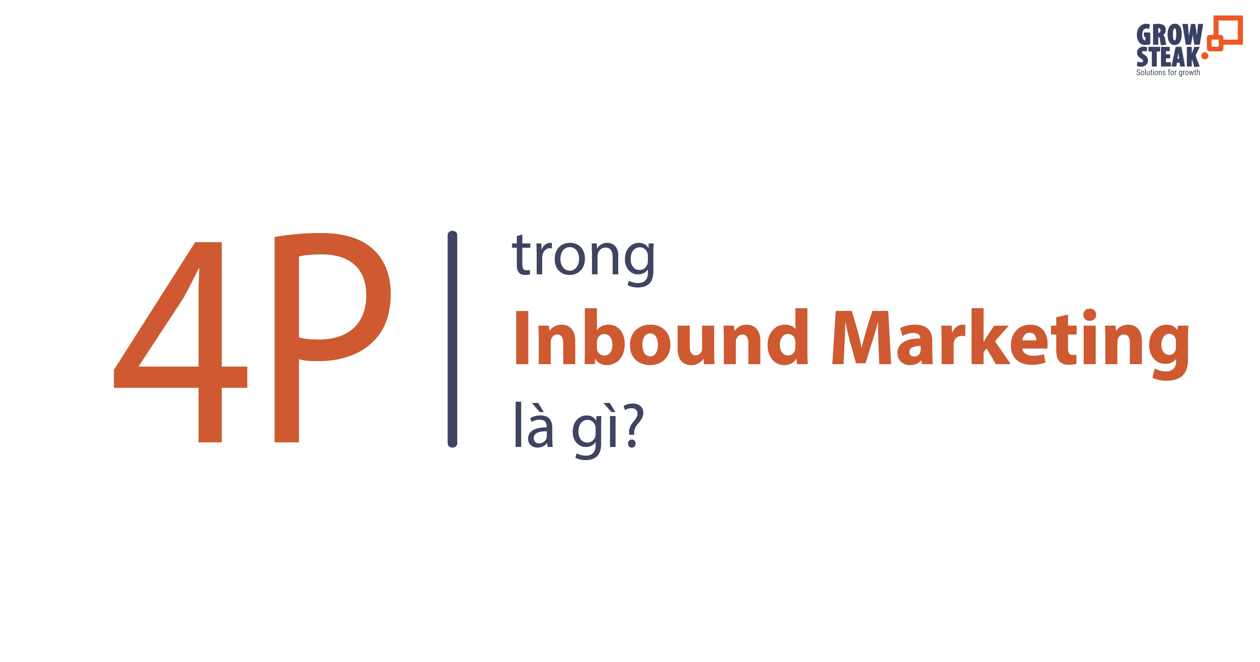 4p trong inbound marketing