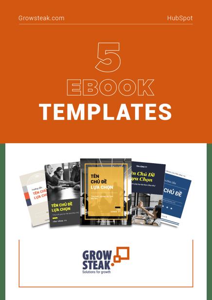 5 Ebook Template