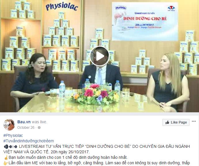 phát live stream trên facebook